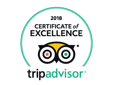 Certificate of Excellence 2018 Trip Advisor